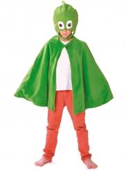 Geckos mask och mantel - Maskeradtillbehör för barn från Pyjamashjältarna™