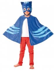 Kattpojkens mask och mantel - Maskeradtillbehör för barn från Pyjamashjältarna™