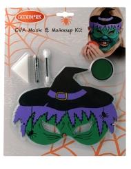 Sminkningskit och häxmask - Halloween sminkning