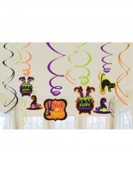 Bus eller godis - Hängande Halloweendekorationer