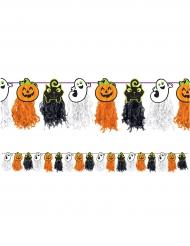 Pappersgirland med Halloween tema - Halloween pynt