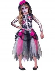 Dia de los muertos klänning för barn - Halloween Maskeraddräkter