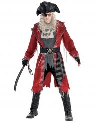 Kapten Zombie - Halloweenkostym för vuxna