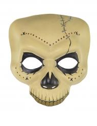 Dia de los Muertos-skalle - Mask till Halloween