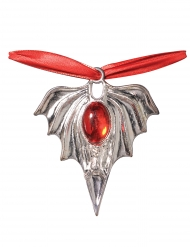 Vampyrmedaljong - Halloweentillbehör 48 cm