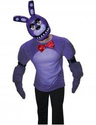 Bonnie™ halvmask från Five nights at Freddy