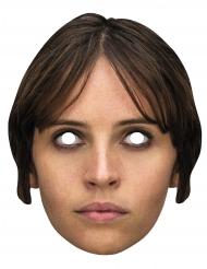 Star Wars™ Rogue One Jyn Erso kartongmask