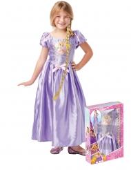 Rapunzels klänning och fläta - Gåvobox från Trassel™ för barn
