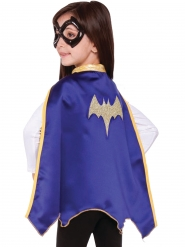 Cape och halvmask Batgirl Super Hero Girls™ barn