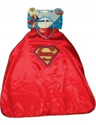Supergirl ™ Super Hero Girls ™ barnkostym och diadem