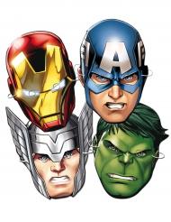 Avengers™ - 6 kartongmasker till kalaset