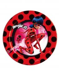 8 små tallrikar från Ladybug™ 18cm - Kalasdukning