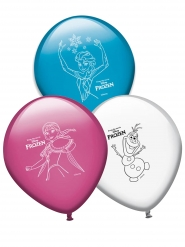 Frost™ - 8 färggranna ballonger i latex