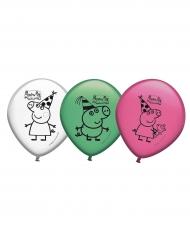 Greta Gris™ - 8 Ballonger i latex