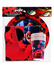 Engångsservis för 8 personer från Ladybug™ - Kalasdukning