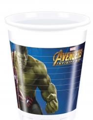 Avengers Infinity War™ - 8 plastmuggar 200 ml