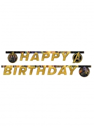 Infinity War™ Grattis på födelsedagen Avengers-girlang 200x16cm