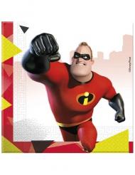 Superhjältarna 2™ - 20 servetter i papper till kalasdukningen