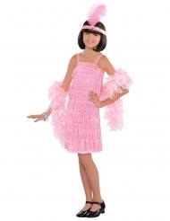 Rosa Charlestondansare - Maskradkläder för barn
