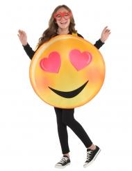 Kärleks-smiley barndräkt