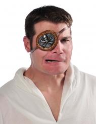 Ögonlapp med dödskalle - Maskeradtillbehör för vuxna