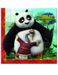 20 Kung Fu Panda 3™ pappersservetter 33x33 cm
