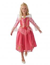 Prinsessan Aurora™ rosa barndräkt med tiara