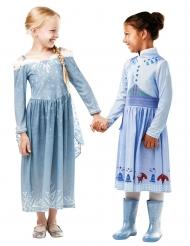 Elsa från Olofs frostiga äventyr - Maskeradklänning för barn
