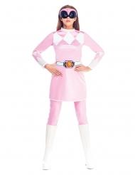 Mighty Morphin Power Rangers™ Rosa dräkt dam