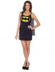 Batgirl™-klänning med mantel dam