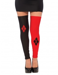 Harley Quinn™ Strumpor utan fötter vuxen