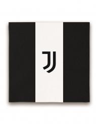 20 Juventus™ pappersservetter 33x33 cm