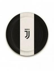 8 Små papptallrikar Juventus™ 18 cm