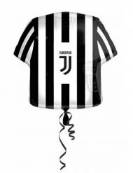 Juventus™ svartvit aluminiumballong 60 cm