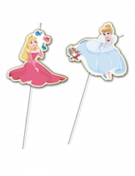 6 Disney™ prinsess-sugrör