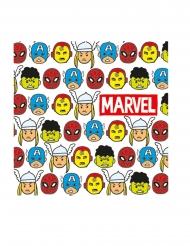 20 Avengers™ premiumservetter 33x33 cm