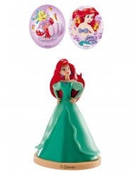 Den Lilla Sjöjungfrun Ariel™ dekorationskit 8,5 cm