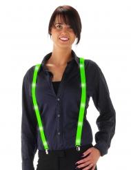 Gröna LED-hängslen