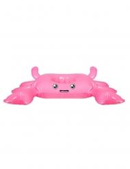 Rosa uppblåsbar krabba för drinken