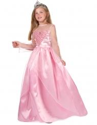 Glittrande rosa prinsessa - Maskeradkläder för barn