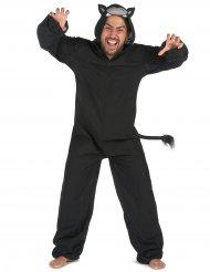 Lustig svart panter - Maskeradkläder för vuxna