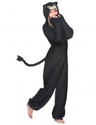 Listig svart panter - Maskeradkläder för vuxna