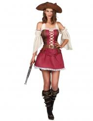 Rasande Ronja - Piratkläder för vuxna