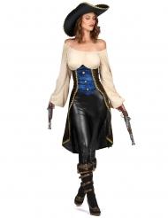 Vilda Hilda - Piratkläder för vuxna till maskeraden