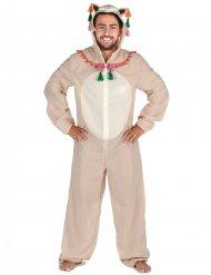 Livlig Lama - Maskeradkläder för vuxna