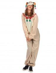 Ljuvlig lama - Maskeradkläder för vuxna