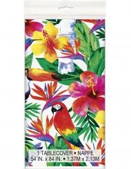 Tropisk bordsduk i plast 137x213 cm