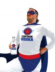 Captain Vodka superhjältedräkt vuxen
