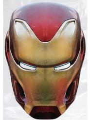 Avengers Infinity War Iron Man™ pappmask vuxen