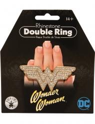 Wonder Woman™ glittrig dubbelring